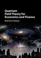 Quantum Field Theory for Economics ...