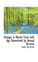 Changes in Mental Traits with Age...