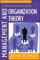 Management and Organization Theory: A...