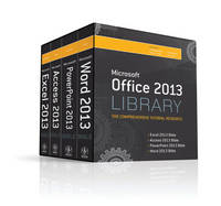 Office 2013 Library Excel 2013 Bible,...