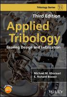Applied Tribology: Bearing Design and...
