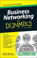 Business Networking For Dummies(R)