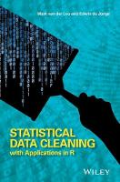 Statistical Data Cleaning with...