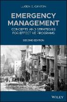 Emergency Management: Concepts and...