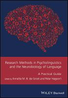 Research Methods in Psycholinguistics...