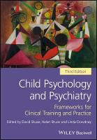 Child Psychology and Psychiatry:...