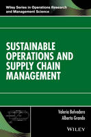 Sustainable Operations and Supply...
