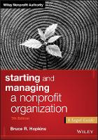 Starting and Managing a Nonprofit...
