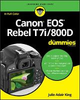 Canon EOS Rebel T7i/800D For Dummies