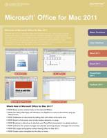 Microsoft Office 2011 for Mac...