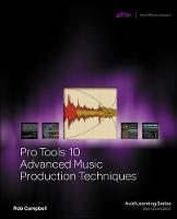 Pro Tools 10 Advanced Music ...