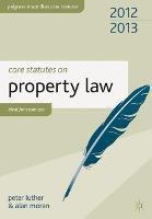 Core Statutes on Property Law: 2012-13