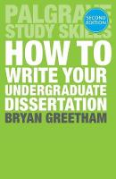 How to Write Your Undergraduate...