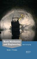 Rock Mechanics and Engineering:...