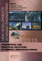 New Developments in Mining ...