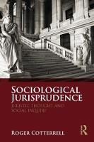 Sociological Jurisprudence: Juristic...