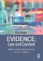 Evidence: Law and Context