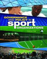 Governance and Policy in Sport...