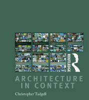 Architecture in Context: Boxset