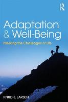 Adaptation and Well-Being: Meeting ...