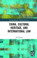 China, Cultural Heritage, and...