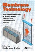 Membrane Technology: Sustainable...