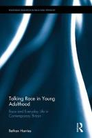 Talking Race in Young Adulthood: Race...