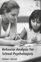Behavior Analysis for School...
