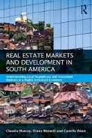 Real Estate and Urban Development in...