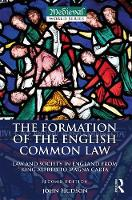 The Formation of the English Common...