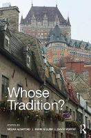 Whose Tradition?: Discourses on the...