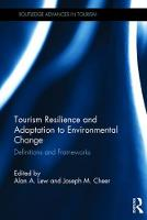 Tourism Resilience and Adaptation to...