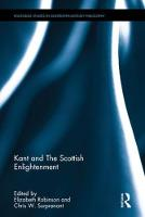 Kant and the Scottish Enlightenment