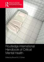 Routledge International Handbook of...