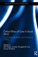 Critical Ethics of Care in Social...