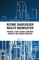 Beyond Shareholder Wealth...