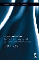 Culture as a System: How We Know the...