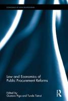 Law and Economics of Public...