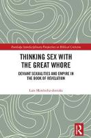 Thinking Sex with the Great Whore:...