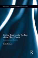 Critical Theory After the Rise of the...