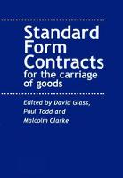 Contracts for the Carriage of Goods