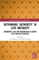 Rethinking `Authority' in Late...