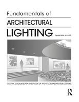 Fundamentals of Architectural Lighting