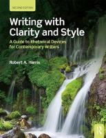 Writing with Clarity and Style: A...