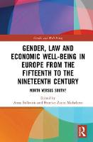 Gender, Law and Economic Well-Being ...