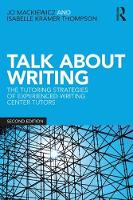 Talk about Writing: The Tutoring...