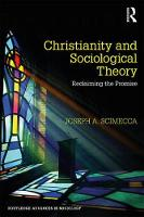 Christianity and Sociological Theory:...