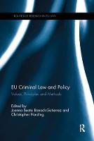 EU Criminal Law and Policy: Values,...