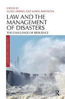 Law and the Management of Disasters:...