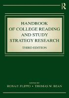 Handbook of College Reading and Study...